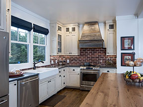 Kitchen Photo from Home Plan 1335 - The Coleraine