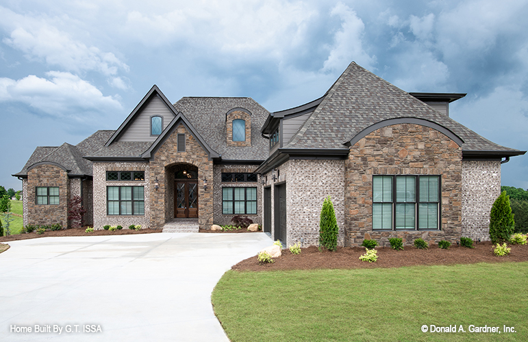 Luxury House Design the Hollowcrest- House Plan 5019