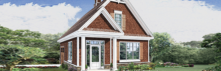 Don Gardner House Plans - Plan 20-G The Brooking