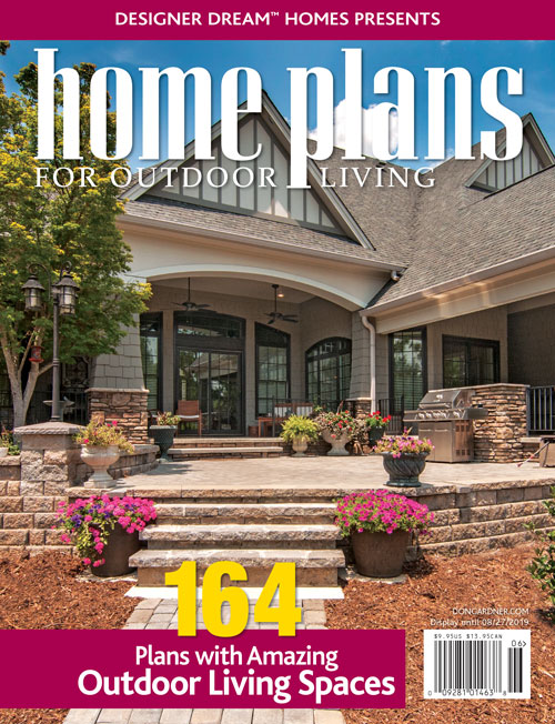 Home plans for Outdoor living