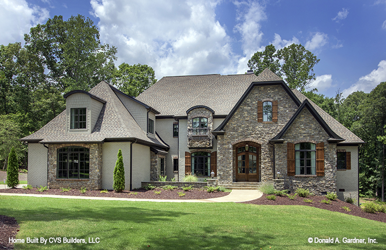 European House Plan #1178 - The Carrera