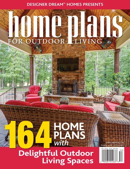 2020 Home Plans for Outdoor Living