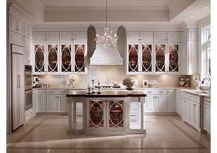 Craftmaid kitchen cabinetry for European house plans