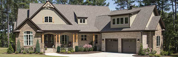 Angled Garage House Plans - Plan 1373 The Ambroise