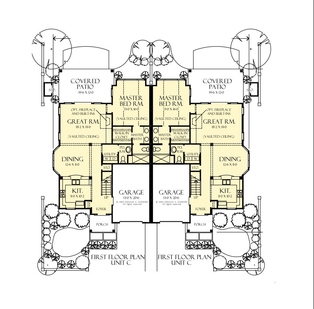 House Plan 8003 Main Floor