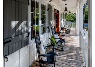 Front Porch of House Plan 1188 - The Santee