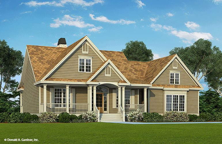 House Design - The Hazelwood - Home Plan 884
