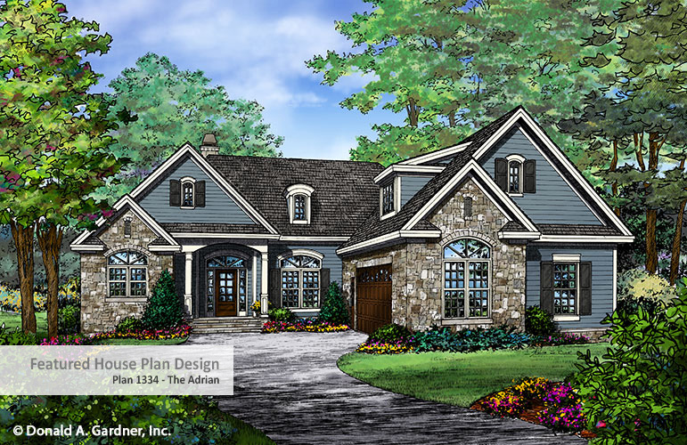 Building Assistance - Home Plan 1336 - The Adrian