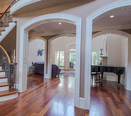 Foyer from the Wedgewood - Home Plan #806