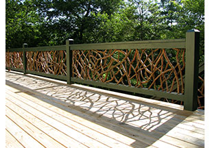 Mountain Laurel Handrailing