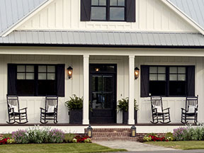 Front Porch photo from Home Plan 1335 - The Coleraine