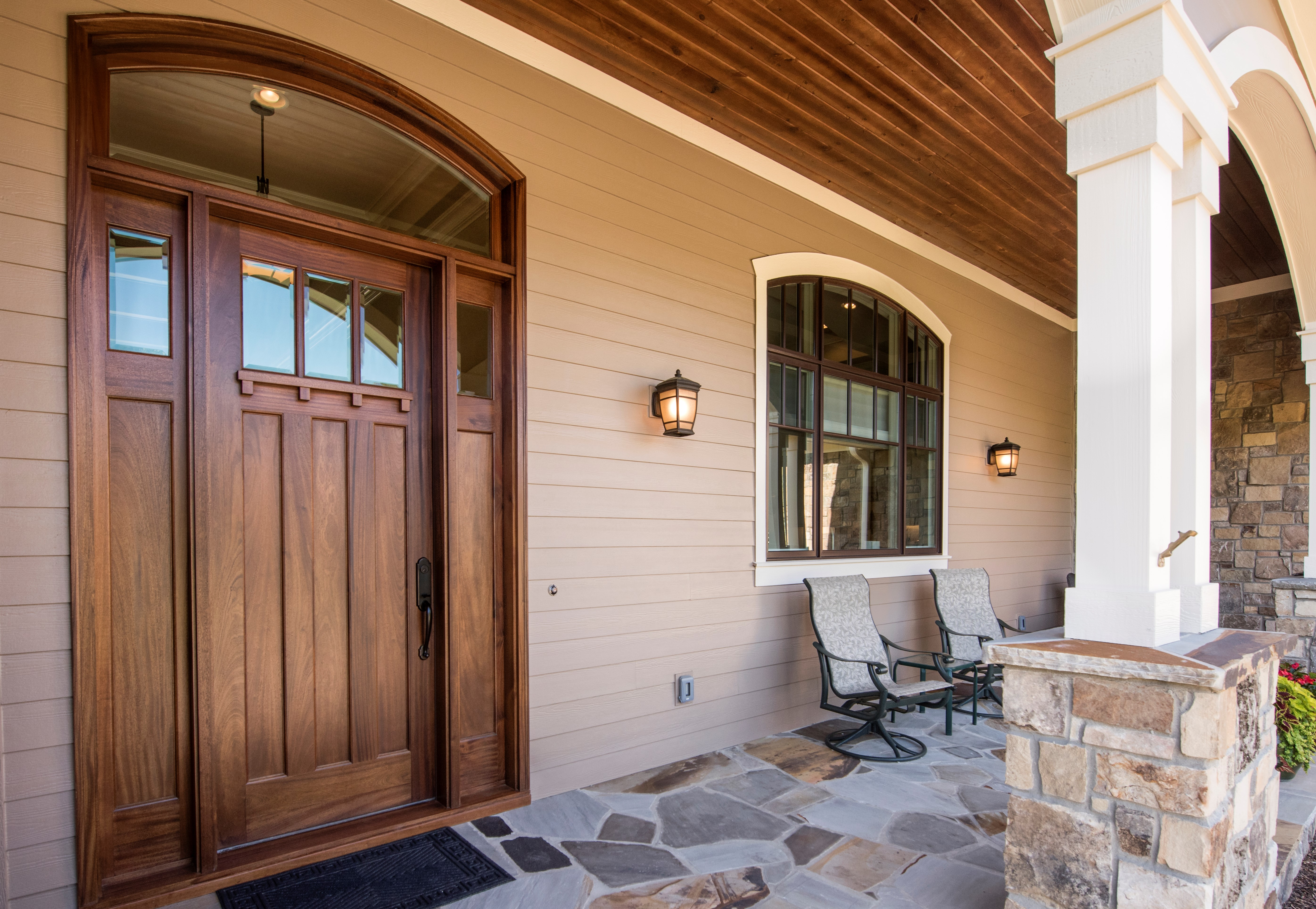 Design Elements of Craftsman Style House Plans | Don Gardner on front home design, front house paint design, front house wall design, front house lighting design, front house landscape design, front house windows design, front house concrete design,