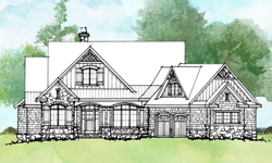Conceptual House Plan 1522