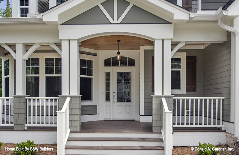 Front porch photo of the Hinnman - Plan 1242