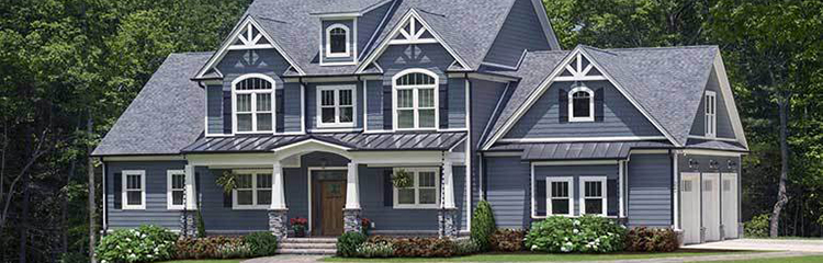 2 Story House Plans - Plan 1424 The Blarney