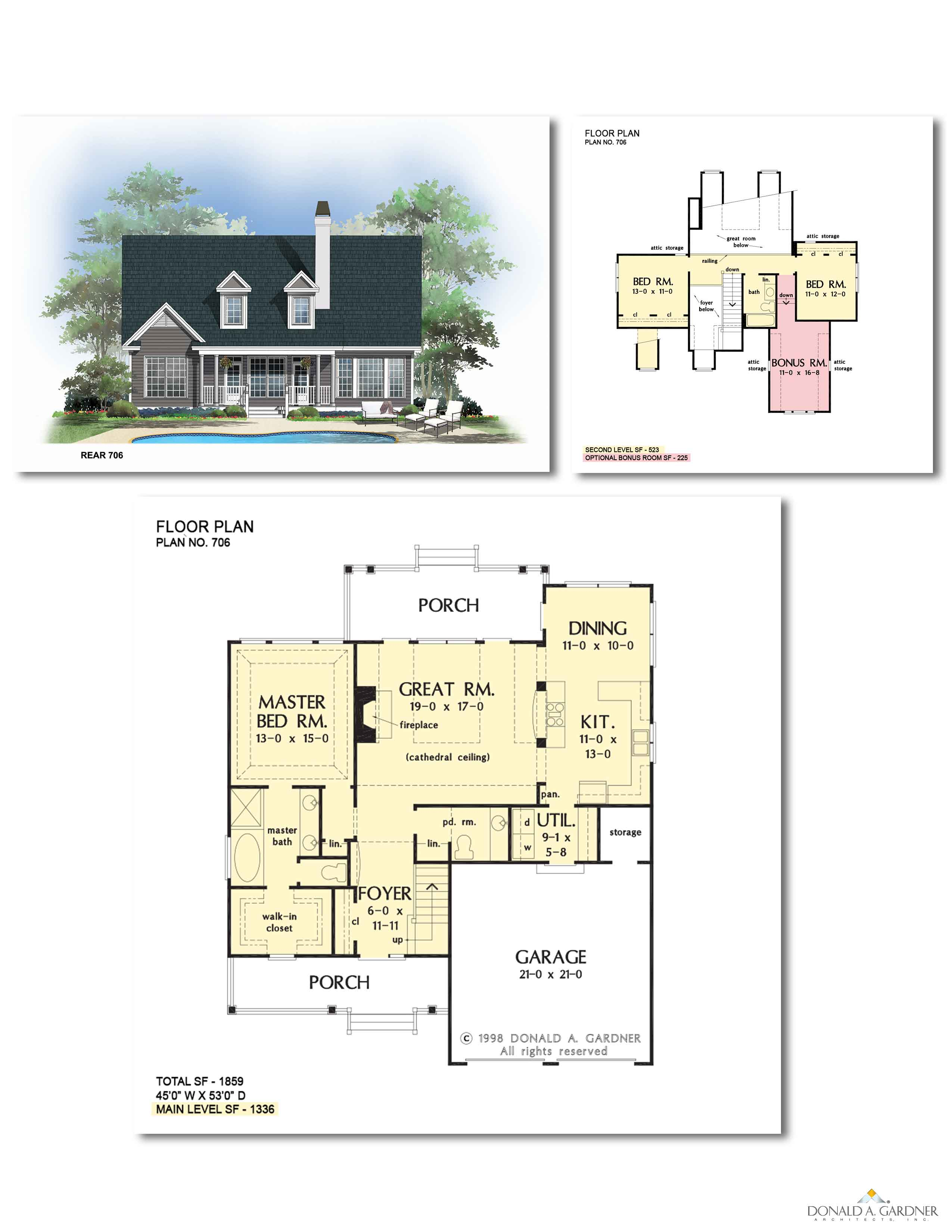 House Plan 706 - The Courtney
