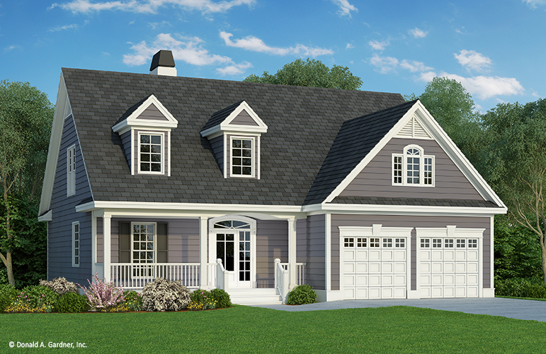 Simple Home Plan - The Courtney 706