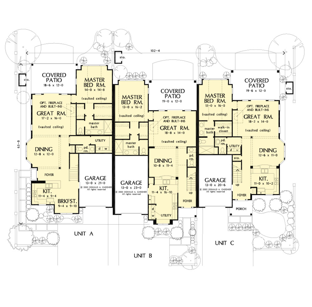 House Plan 8001 - Main Floor