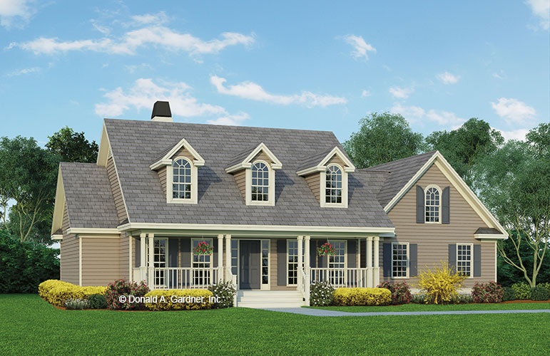 House Design - The Georgetown - Plan 393