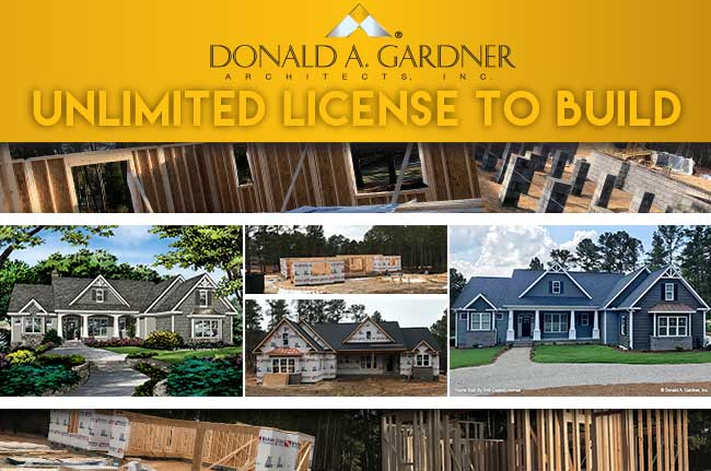 Unlimited License to Build House Plans