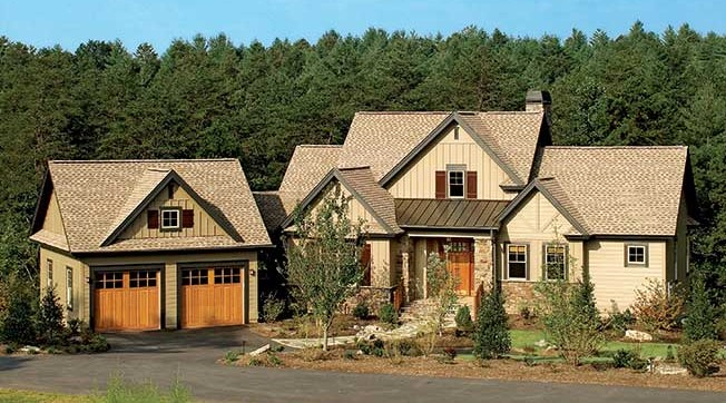 Lake house plan the Riva Ridge - home plan 5024