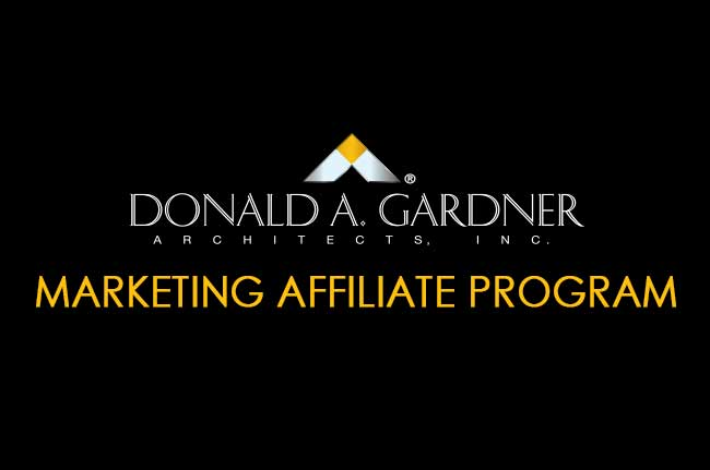 Don Gardner Architects Affiliate Program