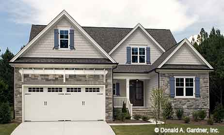 Front Entry Garage House Plans