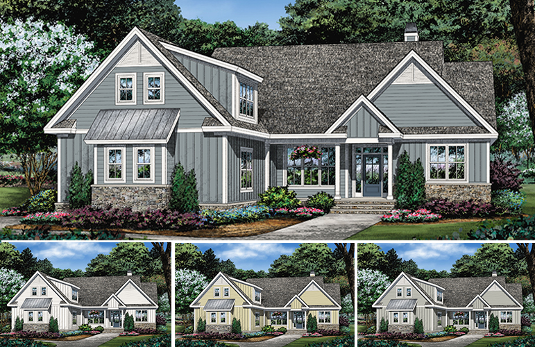 House Plan 1513 - The Janet