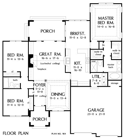 cathedral ceiling home plans ranch home plans ~ home plan and