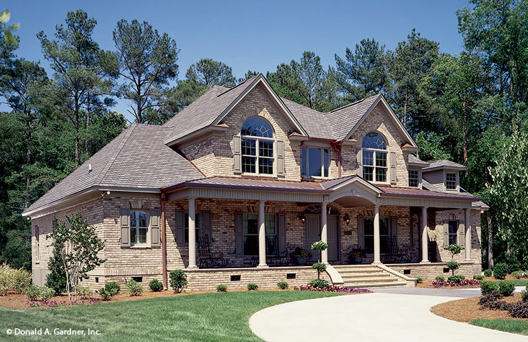House Plan The Hickory Ridge By Donald A Gardner Architects