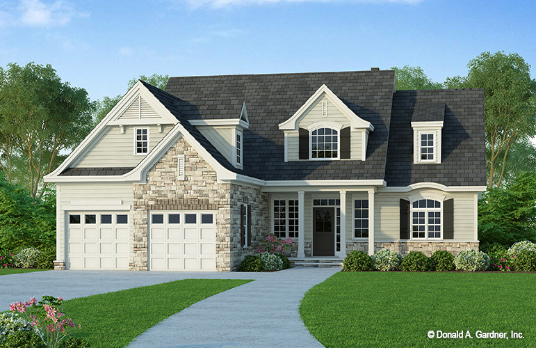 *Renderings Show The General Appearance Of Completed House.