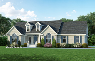 House Plan The Baldwin