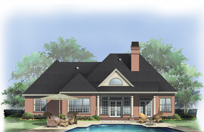 Home Plan The Godfrey by Donald A. Gardner Architects