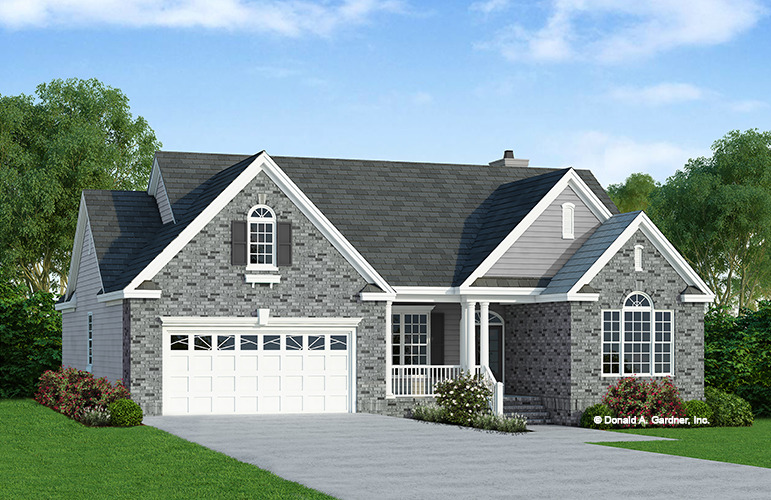 All brick house plans escortsea for Stone and brick home designs