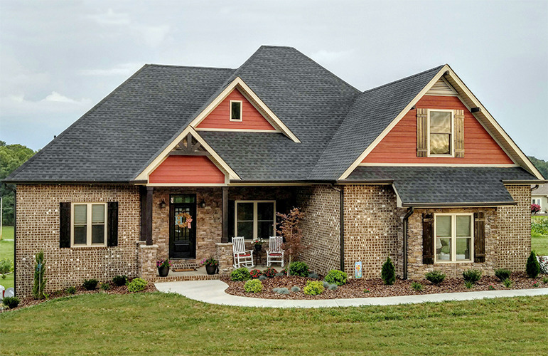 Hip Roof Classic House Plan 3 Bedroom Home Plan Gardner