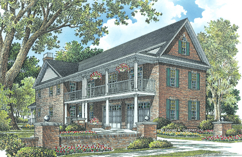 marvelous charleston style house plans #7: House Plan The Battery Park