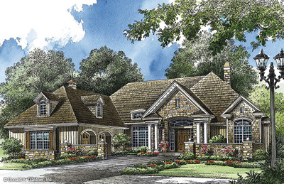 House Plan The Belmeade