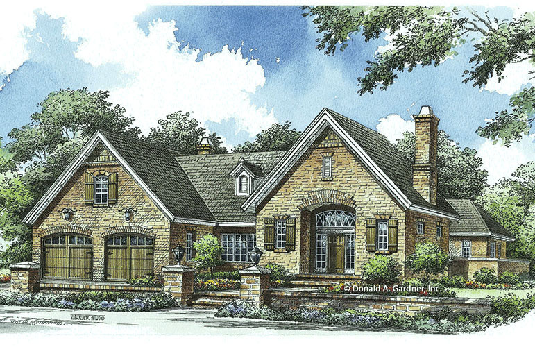 Tuscan House Plans | Tuscan Home Designs | Don Gardner