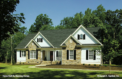 House Plan The Walnut Creek