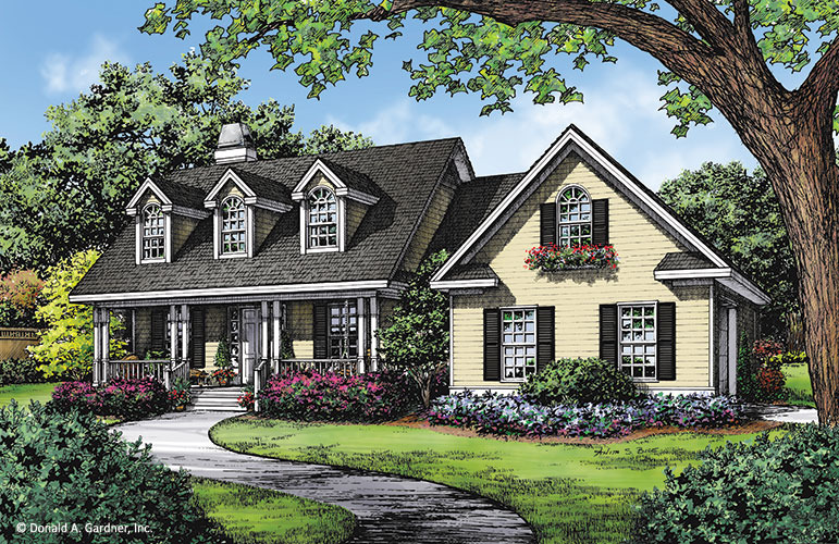 Modest Country House Plans | Simple Home Plans | Don Gardner on
