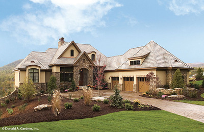 House Plan The Hollowcrest