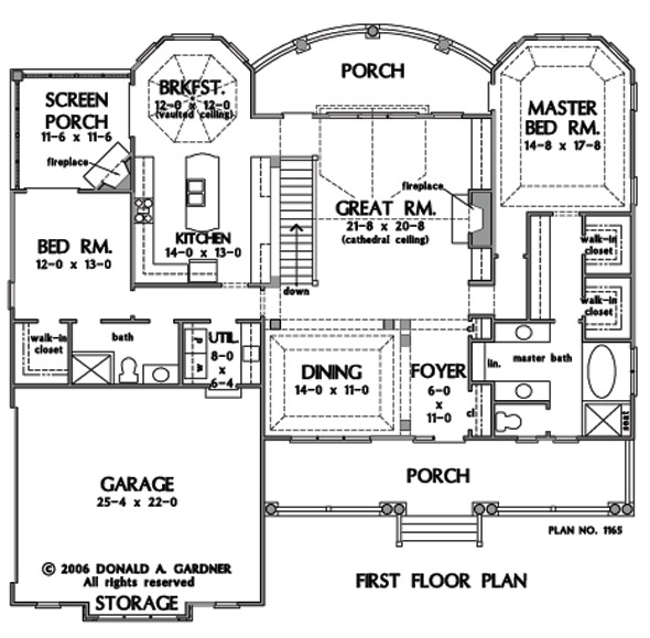 E Unlimited Home Design: Home Plan The Kennedy By Donald A. Gardner Architects