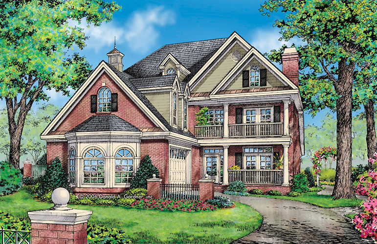 Traditional charleston style house plans for Southern style home plans