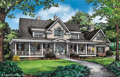 House Plan The Cresthill