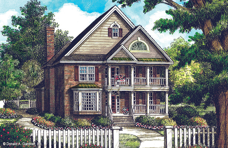 exceptional charleston style house plans #6: House Plan The Tipperary