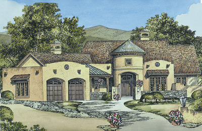 House Plan The Sedona Ridge
