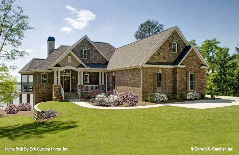 Basement House Plans | Hillside Walkout Basement Home Plans