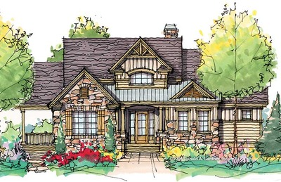 House Plan The Bark Hollow