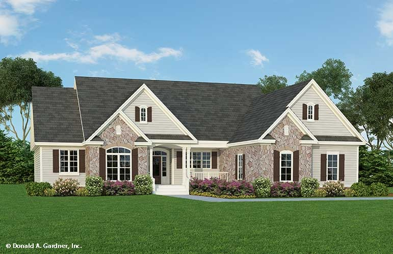 Home Plan The Hardesty
