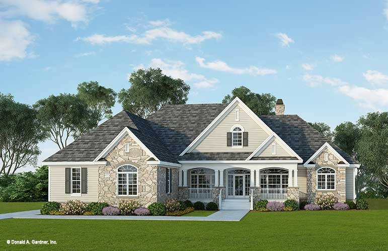Awesome Home Plan The Flagler By Donald A Gardner Architects Largest Home Design Picture Inspirations Pitcheantrous